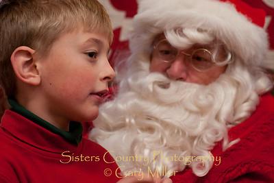 Santa Claus at the Chamber 2010