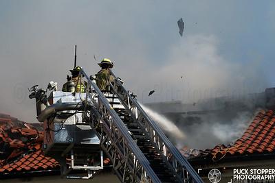 3 Alarm Structure Fire - 72 Leroy Rd, Chappaqua, NY - 6/28/17