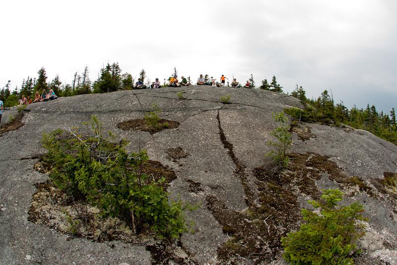 Orange Mountain ledges.