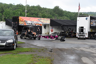 Junior Dragsters Pits and Staging Lanes