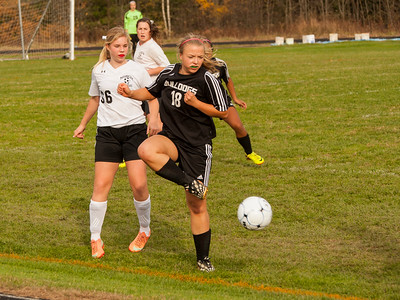 Hall-Dale vs Maranacook Girls Soccer
