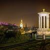 Dugald Stewart Monument in Full Illumination
