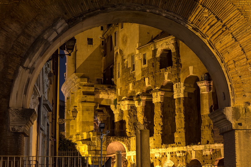 Porticus Octaviae and the Theatre of Marcellus