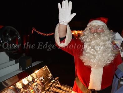 Glen Cove Fire Department Santa Run 2013