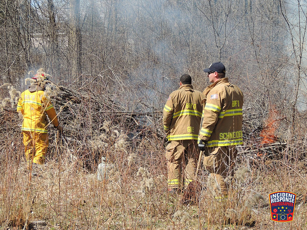 Controlled Burn on April 5, 2014
