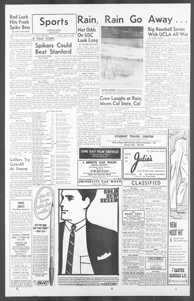 Daily Trojan, Vol. 56, No. 99, April 09, 1965