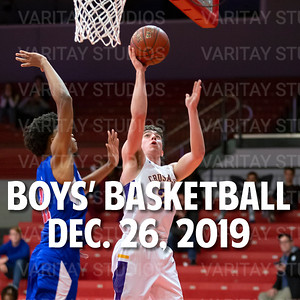 Lutheran Boys Basketball, December 26, 2019