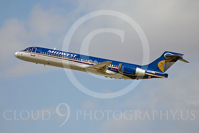 Midwest Airline Boeing 717 Airliner Pictures