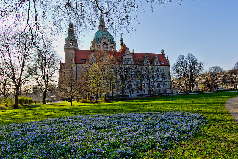 Hannover Rathaus (City Hall), Hannover, Germany