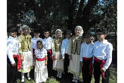 Community Life - Greek Dancers in Weirton - August 19, 2012