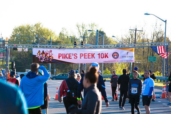 Pike's Peek 10K - D.Reichmann