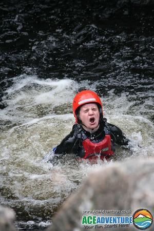 23rd April 2011 - McCarthy Tube Canyon Cliff Jump Combo, Randolph's Leap River Findhorn, Scotland