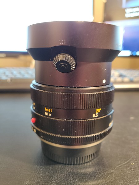 Leica R Summilux 50 mm 1.4 I - Converted to Nikon Mount - Serial 2806020 002.jpg