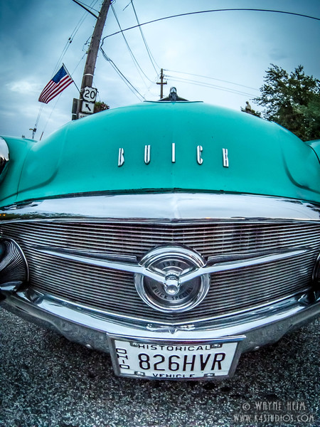 Grill of Buick   Photography by Wayne Heim