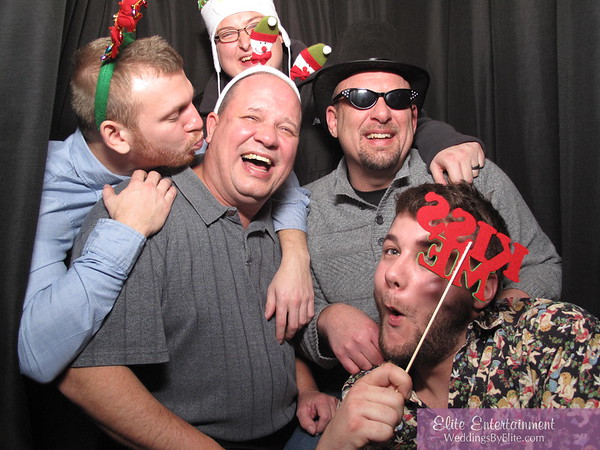 12/20/14 AIM Plastics Photobooth Fun