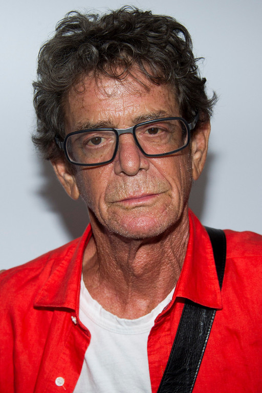 ". FILE - In a Wednesday, July 31, 2013 file photo, Lou Reed attends the ""Breaking Bad\"" final episodes premiere hosted by the Film Society of Lincoln Center in New York. Punk-poet, rock legend Lou Reed is dead of a liver-related ailment, his literary agen said Sunday, Oct. 27, 2013. He was 71. (Photo by Charles Sykes/Invision/AP, File)"
