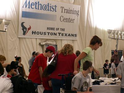 Texans Ability Camp 2007