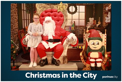Christmas in the City - Photos with Santa!