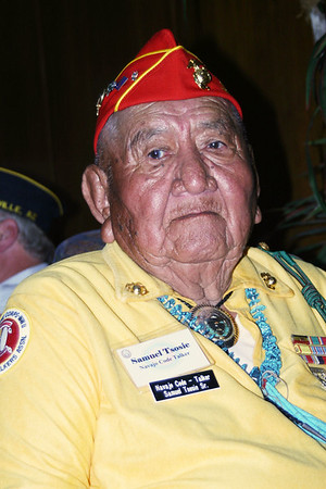 The Navajo Code Talker Monument 02-28-08