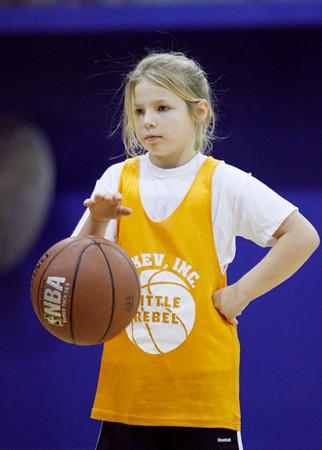 SN Girls Little Rebel Basketball 2010