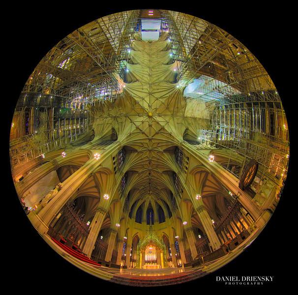'Interior of The St. Patrick Cathedral' New York City, Oct 2013 Photo © Daniel Driensky 2013