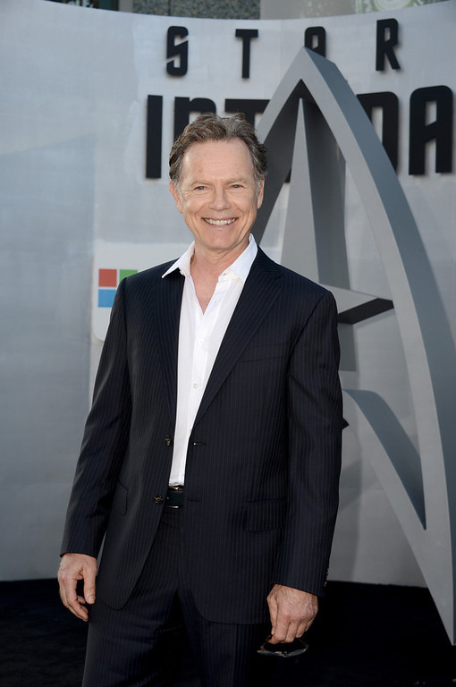 """. Actor Bruce Greenwood arrives at the Premiere of Paramount Pictures\' \""""Star Trek Into Darkness\"""" at Dolby Theatre on May 14, 2013 in Hollywood, California.  (Photo by Kevin Winter/Getty Images for Paramount Pictures)"""