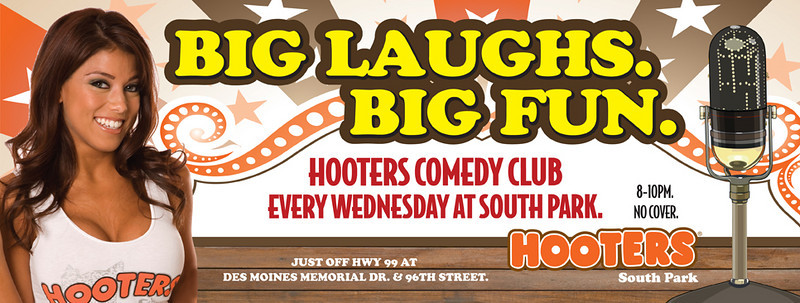 2010-04-07 Hooters Comedy Club Hosted by Andrew Rivers and Featuring Leif Skyving