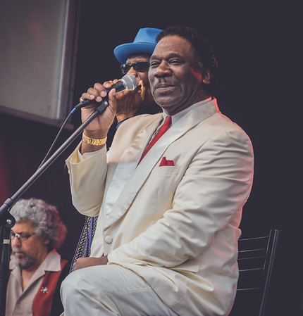 Mud Morganfield - 6-20-15 Creekside Blues and Jazz Festival
