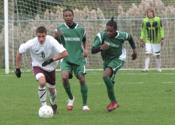 Varsity Boys Soccer vs Weaver - 11/09/07