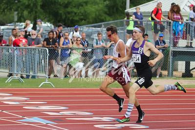 Men's 1,500m - Trials