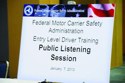 FMCSA Listening Session