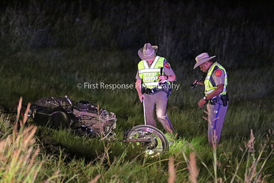 Farmersville, Texas. Motorcycle accident. Hwy 78 @CR 550. 10/18/16