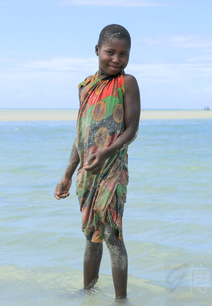Macua Girl at Murrubué, Pemba - Mozambique