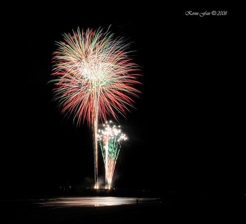 12-31-2008 St. Augustine Pier Fireworks