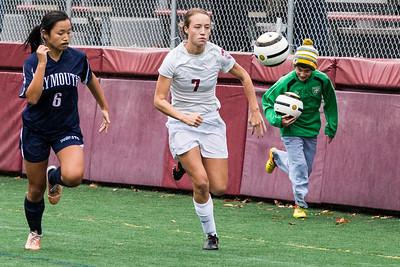 Hanover girls soccer vs Pemboke