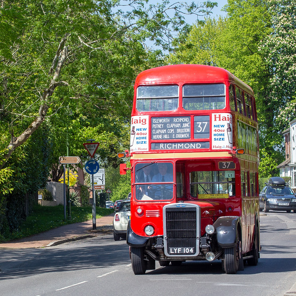 1951 Leyland 7RT with Park Royal body