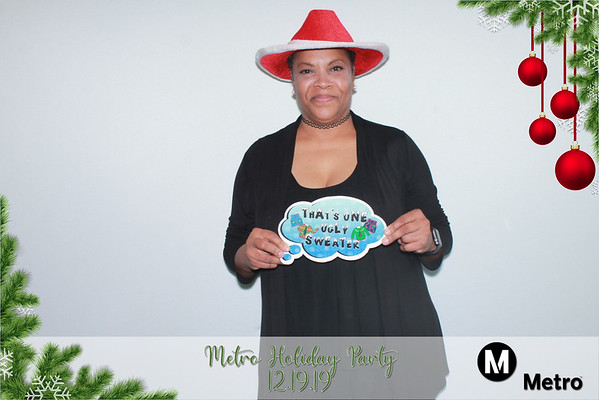 Metro Holiday Party (12/19/19)