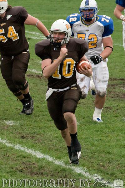 Football: 10/27/2007 v. Morehead State