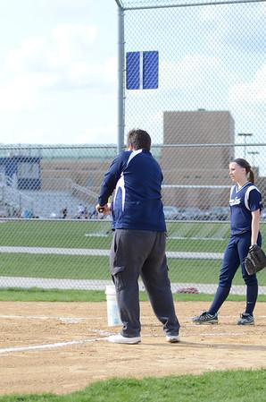 Oswego East JV softball Vs Hinsdale So. 2013