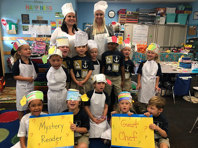 Guest Chefs & Mystery Readers