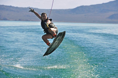 Wakeboarding at Lake Mead