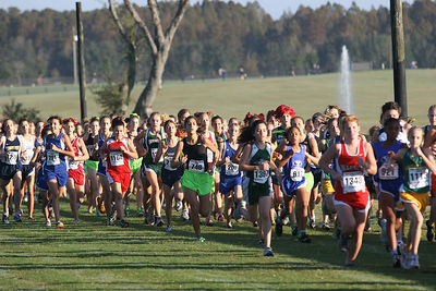 State 1A Girls race