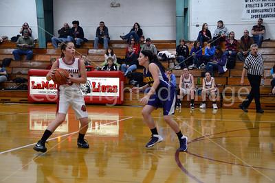 La Moille-Ohio Girls Basketball Senior Night, Jan. 16, 2014