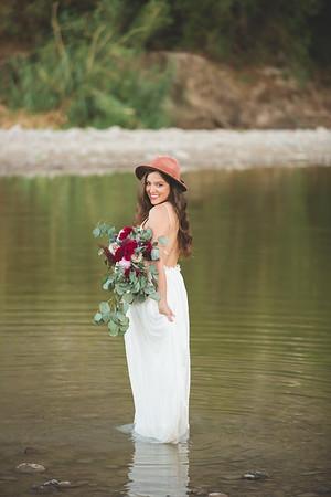 Santa Elena Canyon ~ Boho Bridal