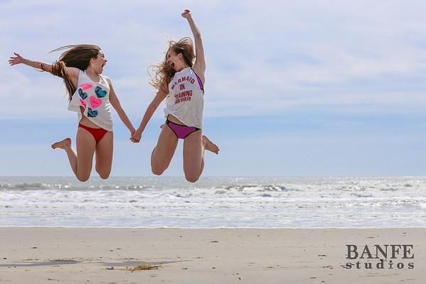 Faith & Lindsey Beach