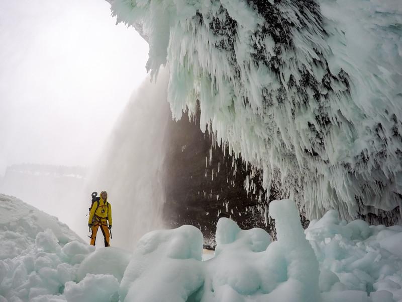 Tim Emmett, Helmcken Falls, Wells Gray Provincial Park, BC, Canada. February 2016