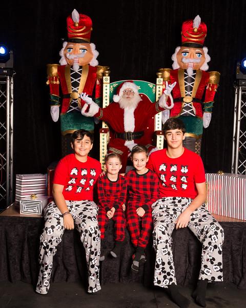 Family Santa Photos