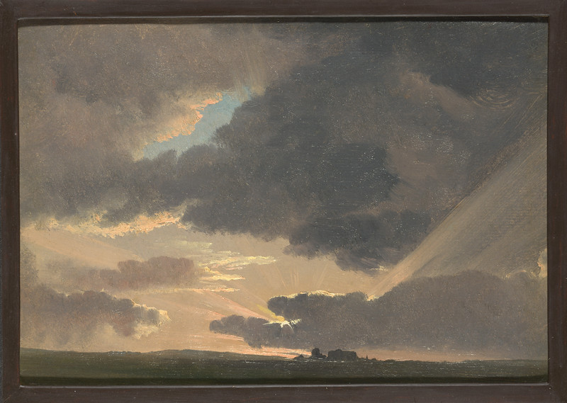 Sunset in the Roman Campagna