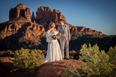 Gina & Phil's Sedona Wedding