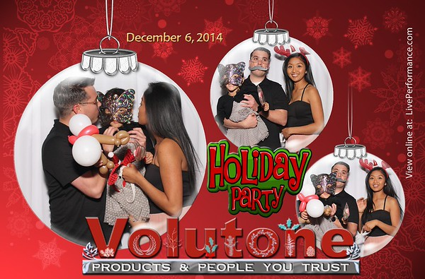 Volutone Holiday Party 12/3/14 - EYE Photo Booth Photo Cards